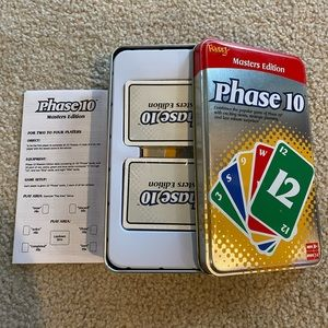 Phase 10 Masters Edition Tin - NWT